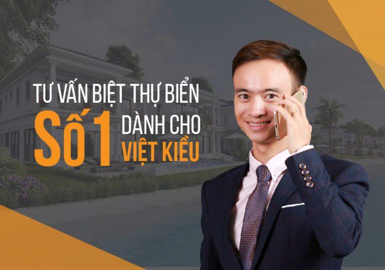 Trần Nghĩa – Chuyên gia tư vấn biệt thự biển số 1 dành cho Việt Kiều