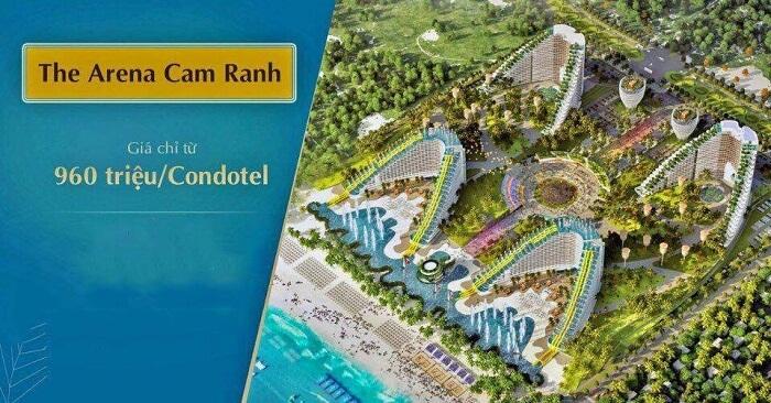 Giá bán tại Condotel The Arena Cam Ranh Nha Trang rất tốt