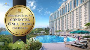 Tổng hợp các dự án Condotel ở Nha Trang tính đến năm 2018
