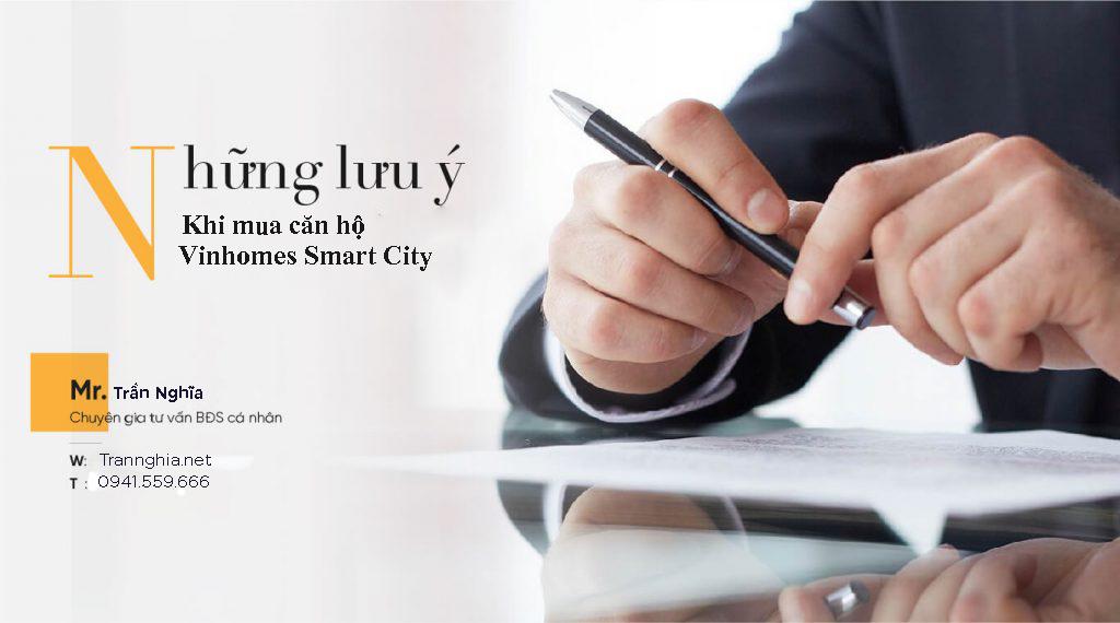 3 lưu ý quan trọng nhất khi mua căn hộ Vinhomes Smart City
