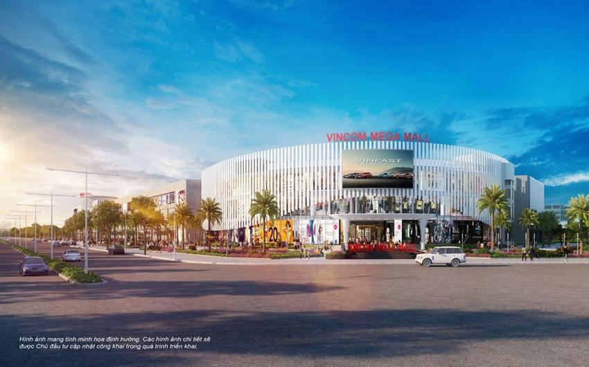 Với diện tích sàn lên tới 68.000 m2, đây là Vincom Mega Mall lớn nhất cả nước.