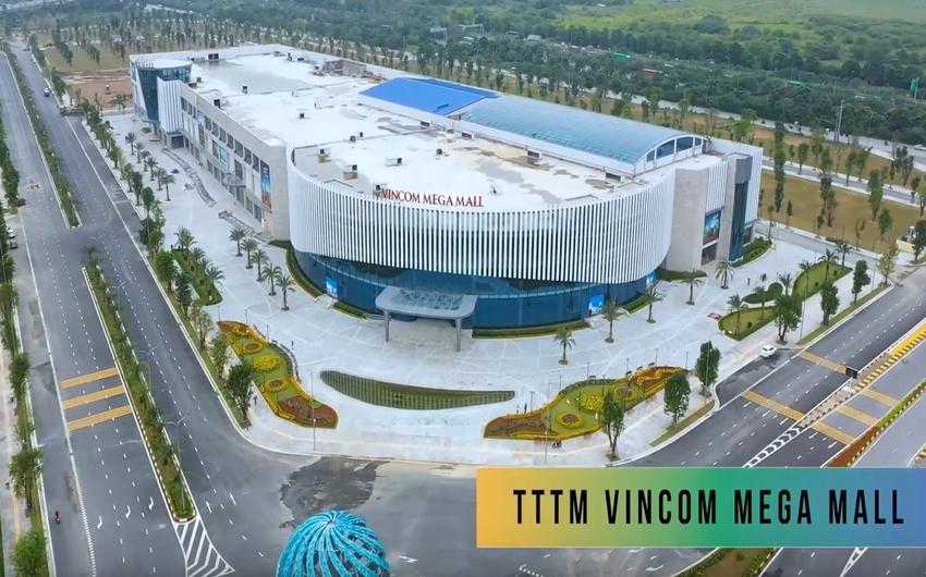 Vincom Mega Mall Vinhomes Smart City là một siêu trung tâm thương mại nhận được nhiều sự quan tâm hiện nay.