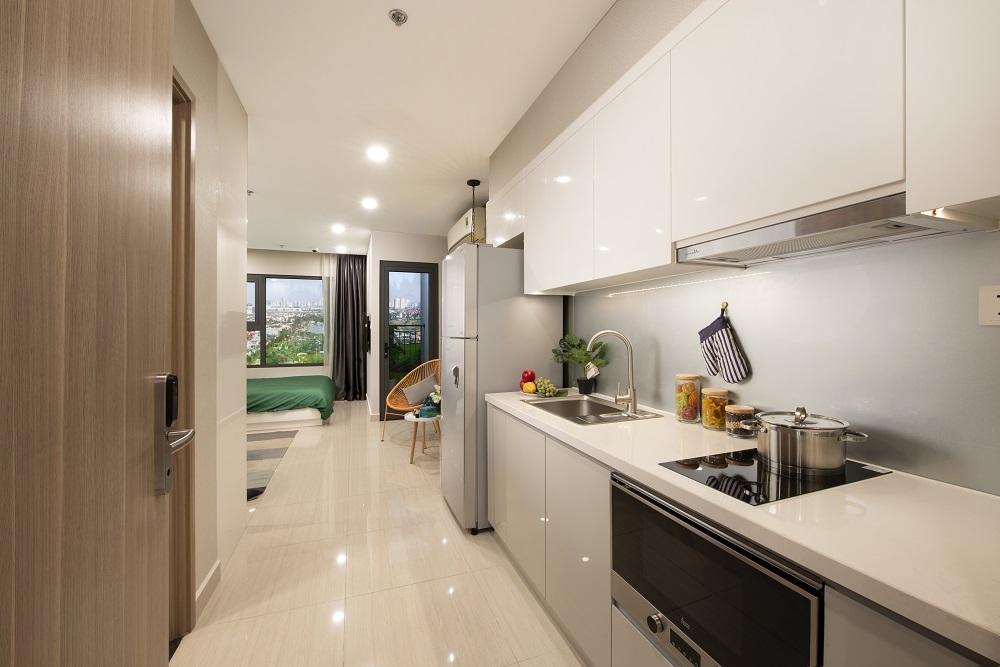 Tầng áp mái là lựa chọn của rất nhiều khách hàng khi mua Vinhomes Smart City.