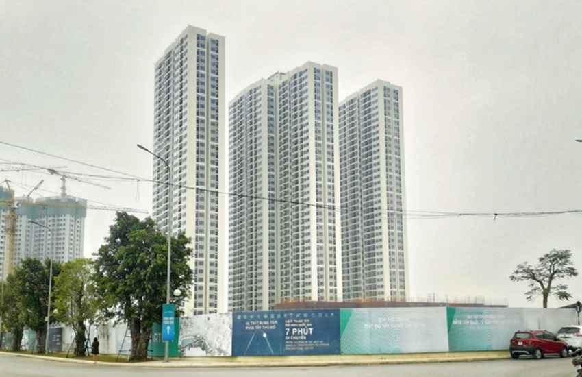 Sapphire 3 Vinhomes Smart City sắp sửa được bàn giao cho cư dân