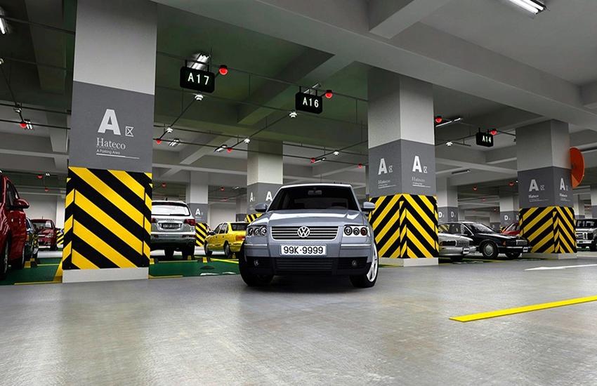 Cư dân Vinhomes Smart City có thể để xe ngay tại tầng hầm của phân khu.