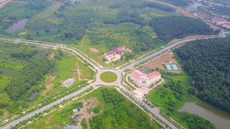 Hạ tầng giao thông dần được đồng bộ tại Hòa Lạc