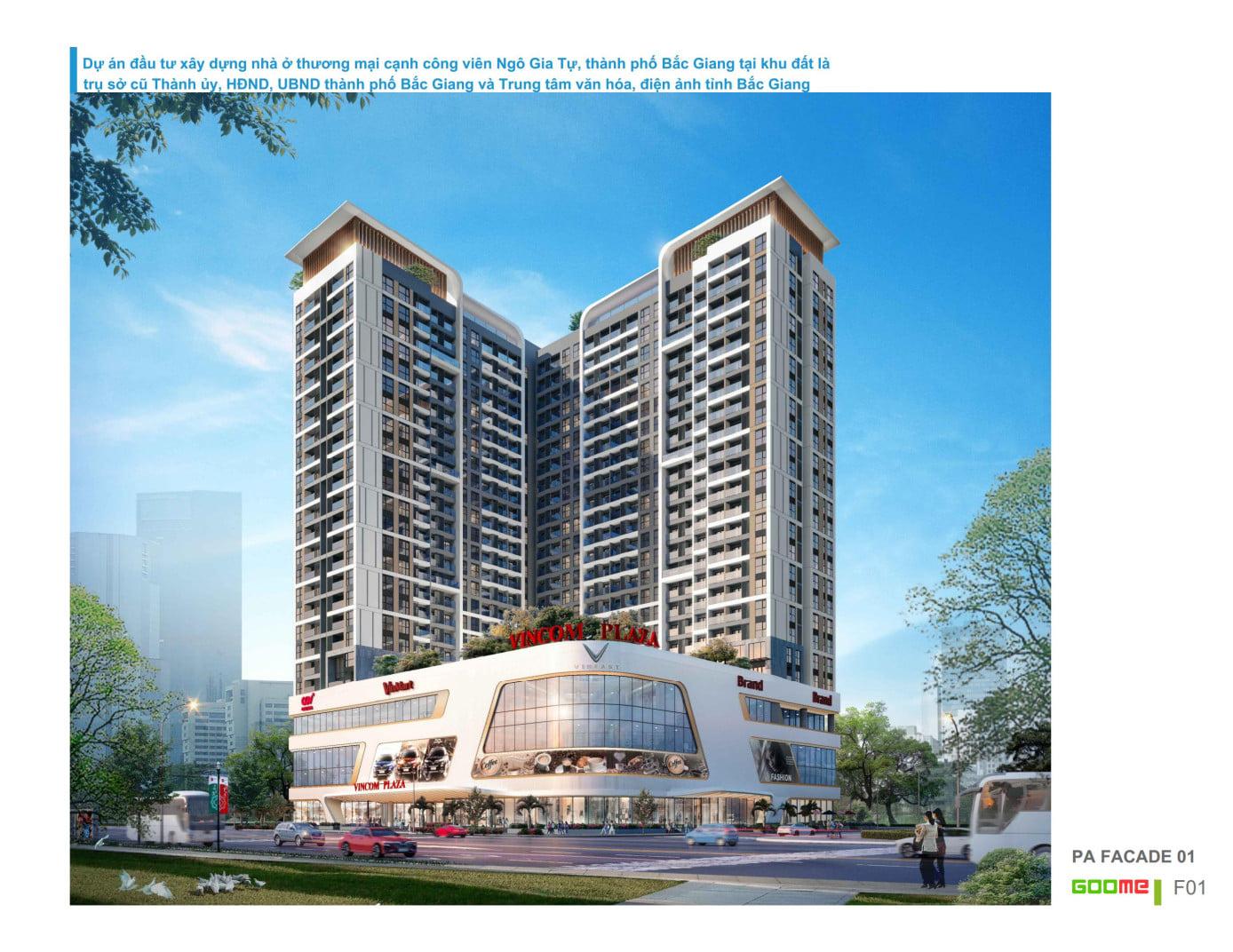 Dự án Vincom Shophouse Bắc Giang